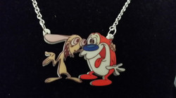 Ren & Stimpy Necklace