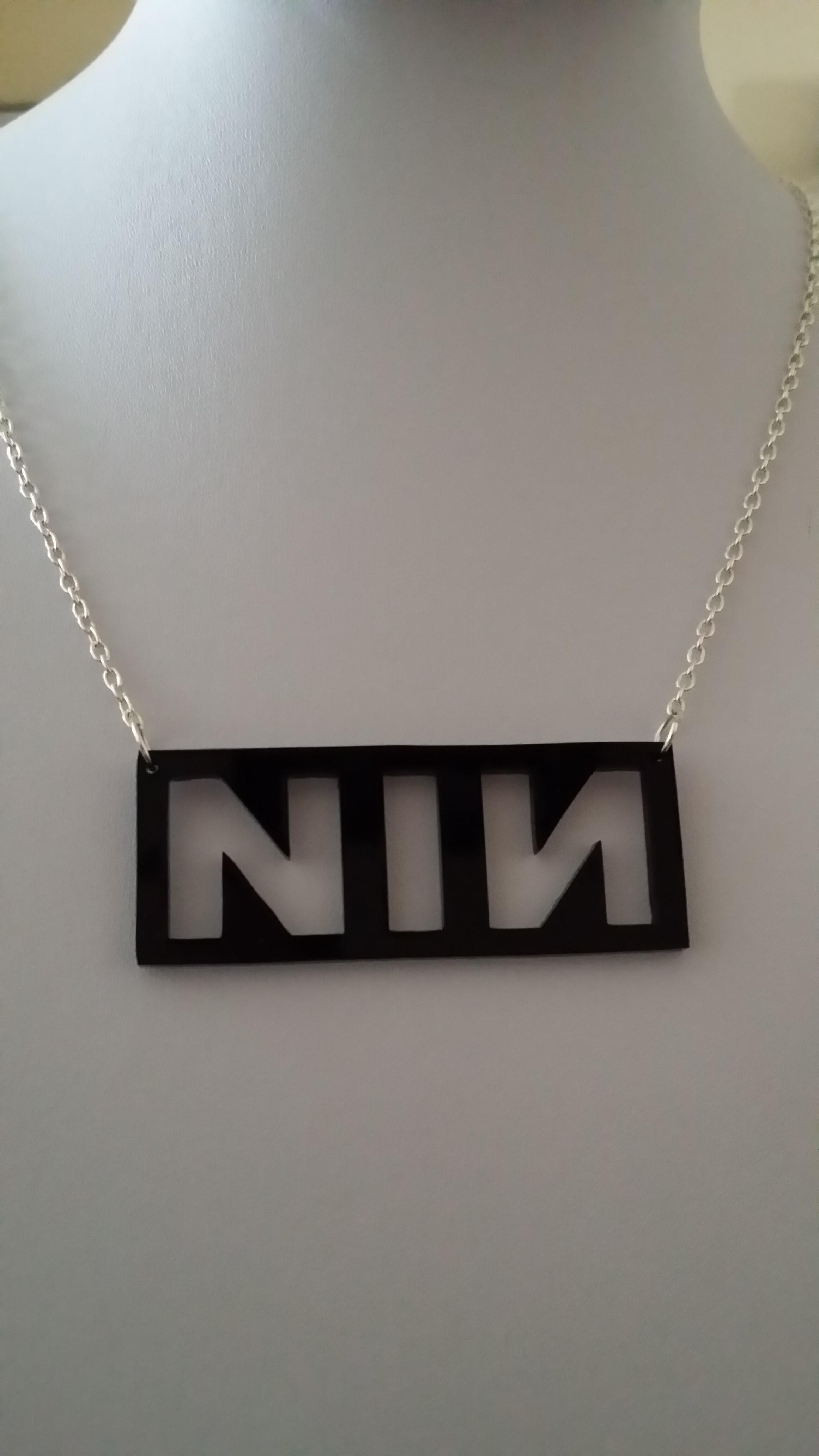 Large NIN Necklace