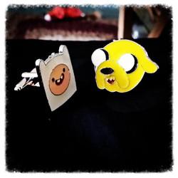 Adventure Time Cuff Links