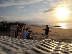 Klein und beschaulich am Strand