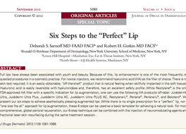 """6 Steps to the """"Perfect"""" Lip"""