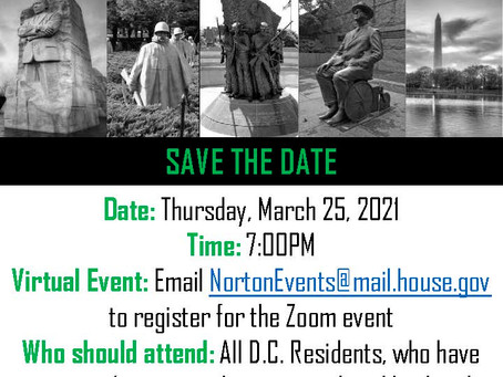 Congresswoman Norton's Joint Community Meeting with the National Park Service