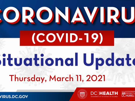 Mayor Bowser Situational Update - March 11, 2021