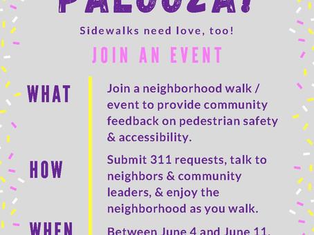 Sidewalk Palooza : June 4th-11th