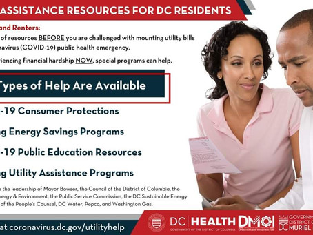 Utility Assistance for DC Residents