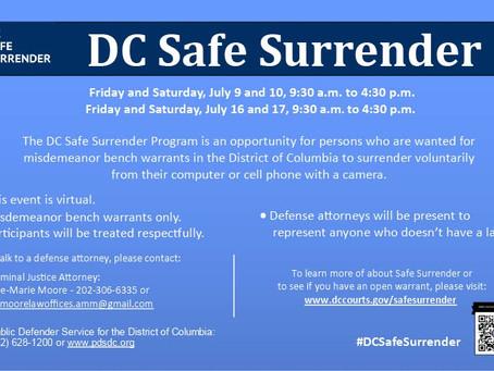 Safe Surrender Program