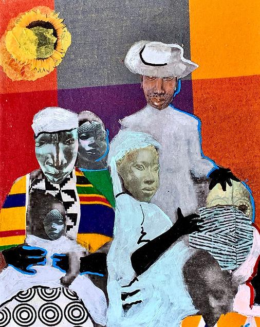 """Zion Weaver"" John Obafemi Jones Collage"