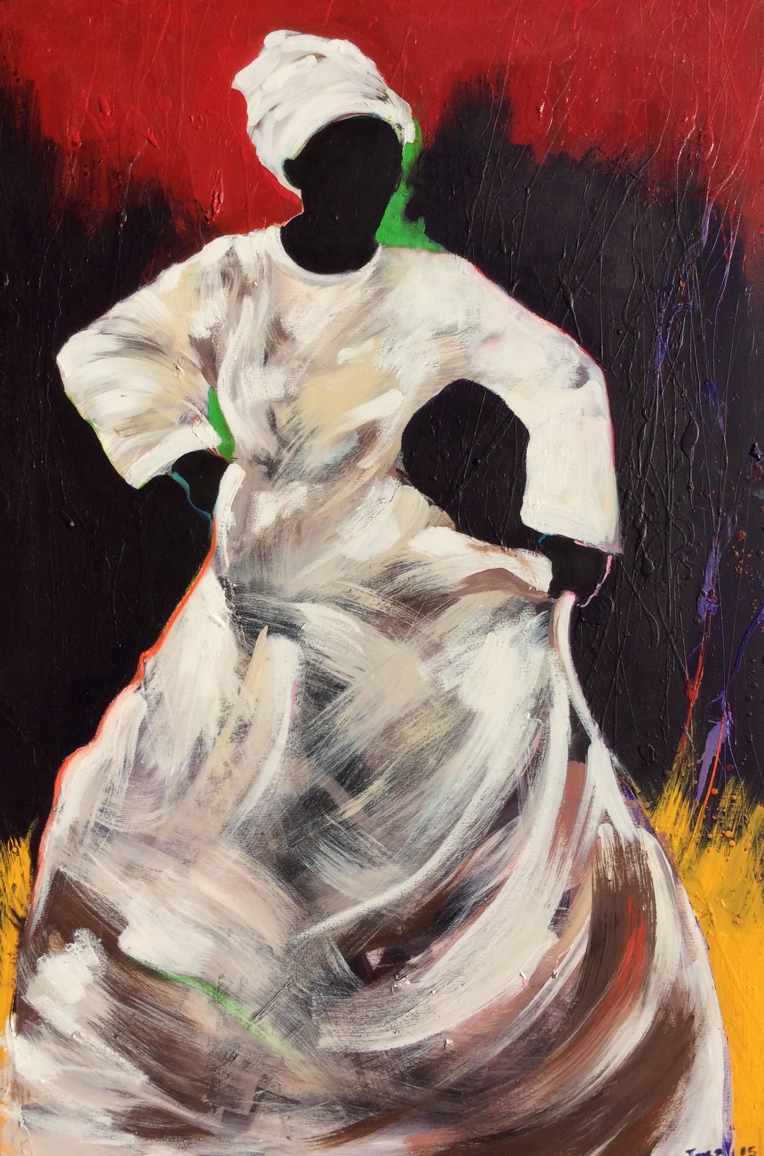 """Dancing Spirit"" 2015"