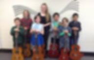 Guitar Ensemble Students in Canberra