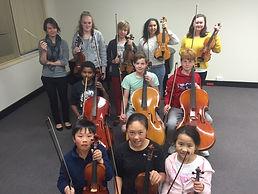 String Orchestra Canberra Intermediate