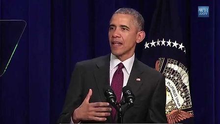 Barack Obama mentioned Lina Khalifeh