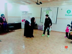 SheFighter training refugees in Self-Defense