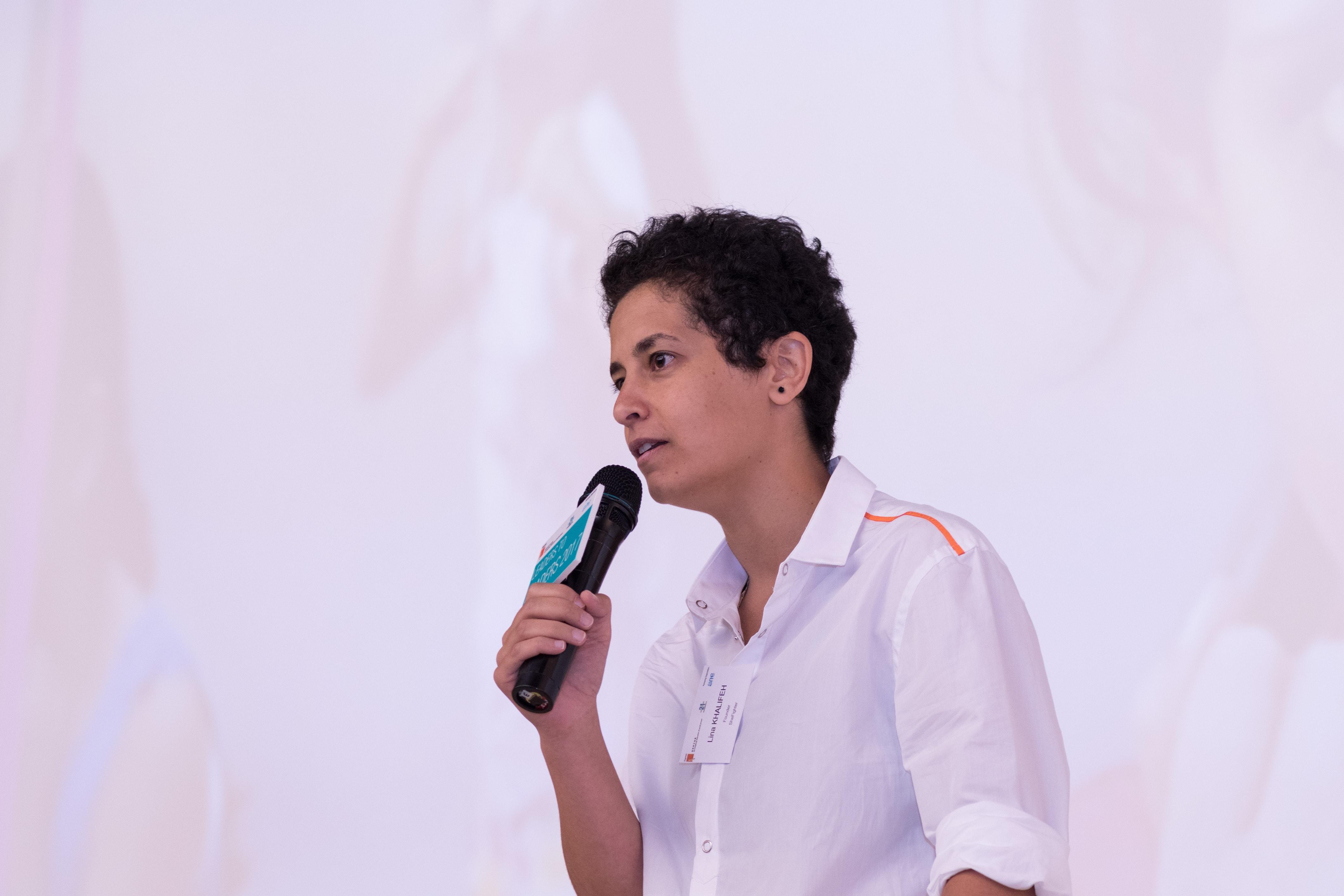 Speaking in Hongkong