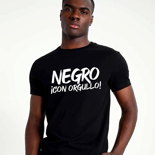 Negro con Orgullo T-shirt