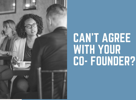 Can't Agree with Your Co-Founder?