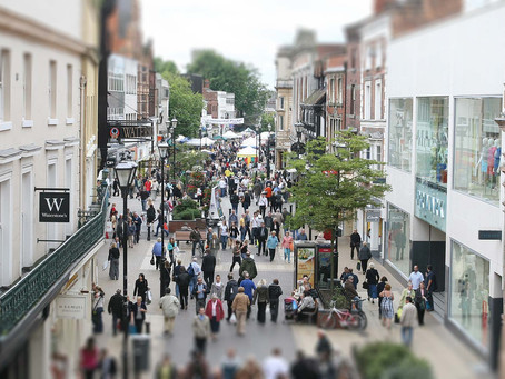 From fashion to food industry in the UK High Streets
