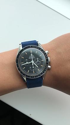 Premium Sea Blue Elastic