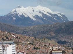 La Paz et la cordillère royale