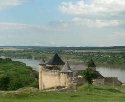 forteresse de Hotin en Ukraine