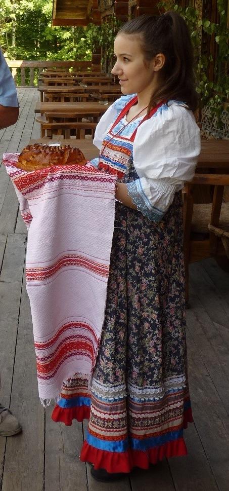 l'hospitalité (pain et sel)