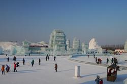 Sculpture sur glace de Harbin