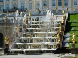 Peterhof - la grande cascade