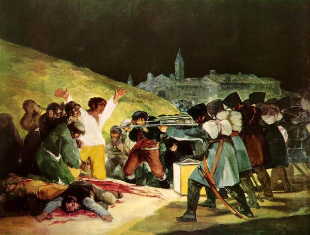 Goya - Dos de Maio (1808)