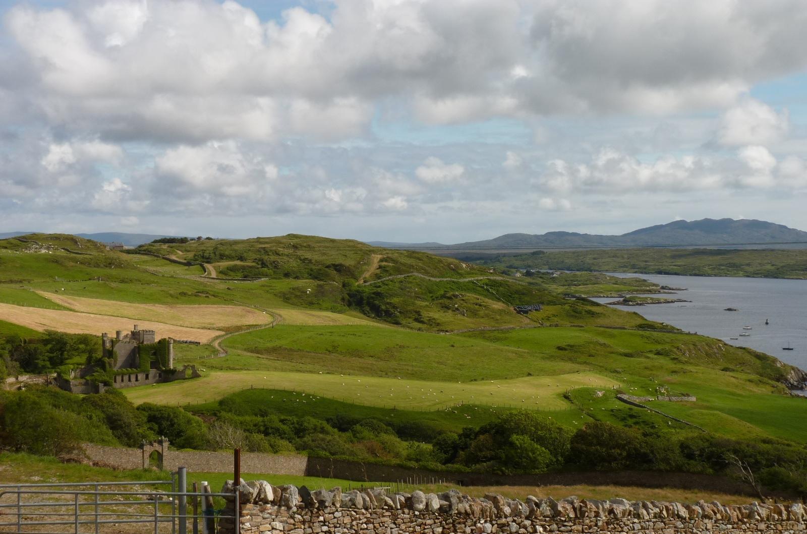 la Sky road du Connemara