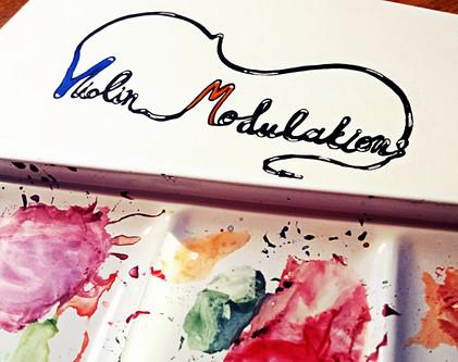 """Violin Modulations"" a music project by Charalabos Paritsis"