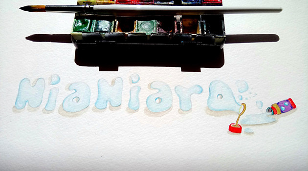 """""""Nianiaro"""" logo for the www.nianiaro.gr website"""