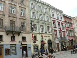 Place du marché de Lvov