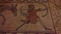 Mosaïque médiévale de Lescar