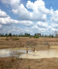vie lacustre à Angkor