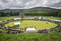 Highland games à Blair Atholl