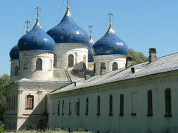 Novgorod - monastère Saint Georges