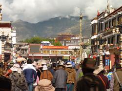 Palais du Potala, vu du Jokhang
