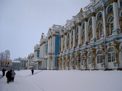 Tsarkoïe Selo dans son blanc manteau