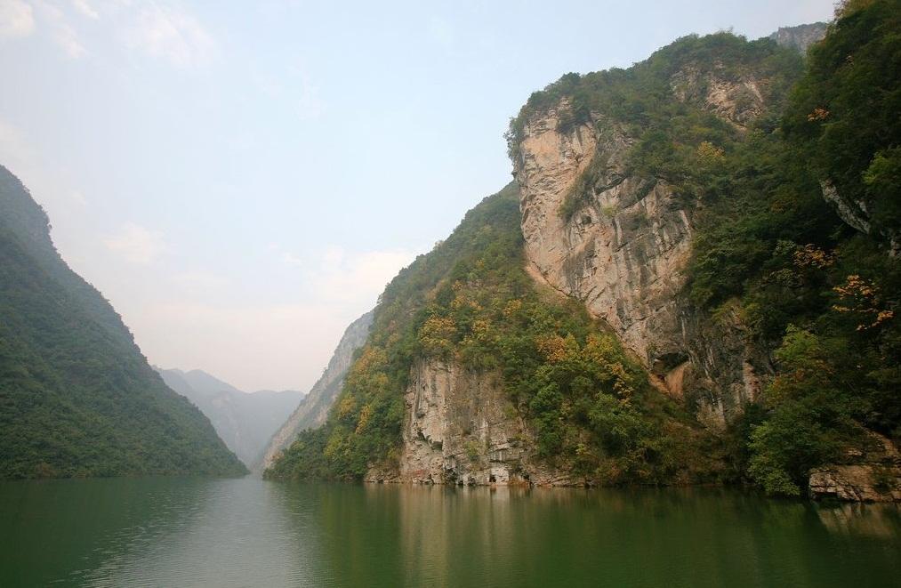 les gorges du Yang Tse Kiang