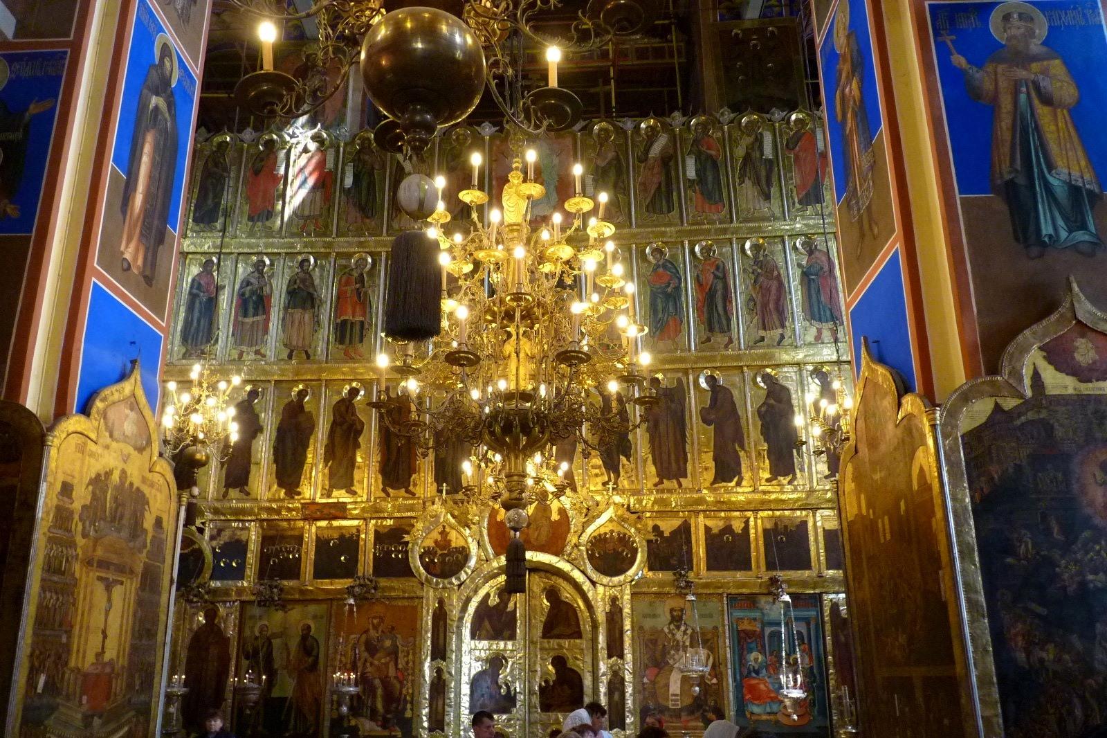Iconostase à Souzdal