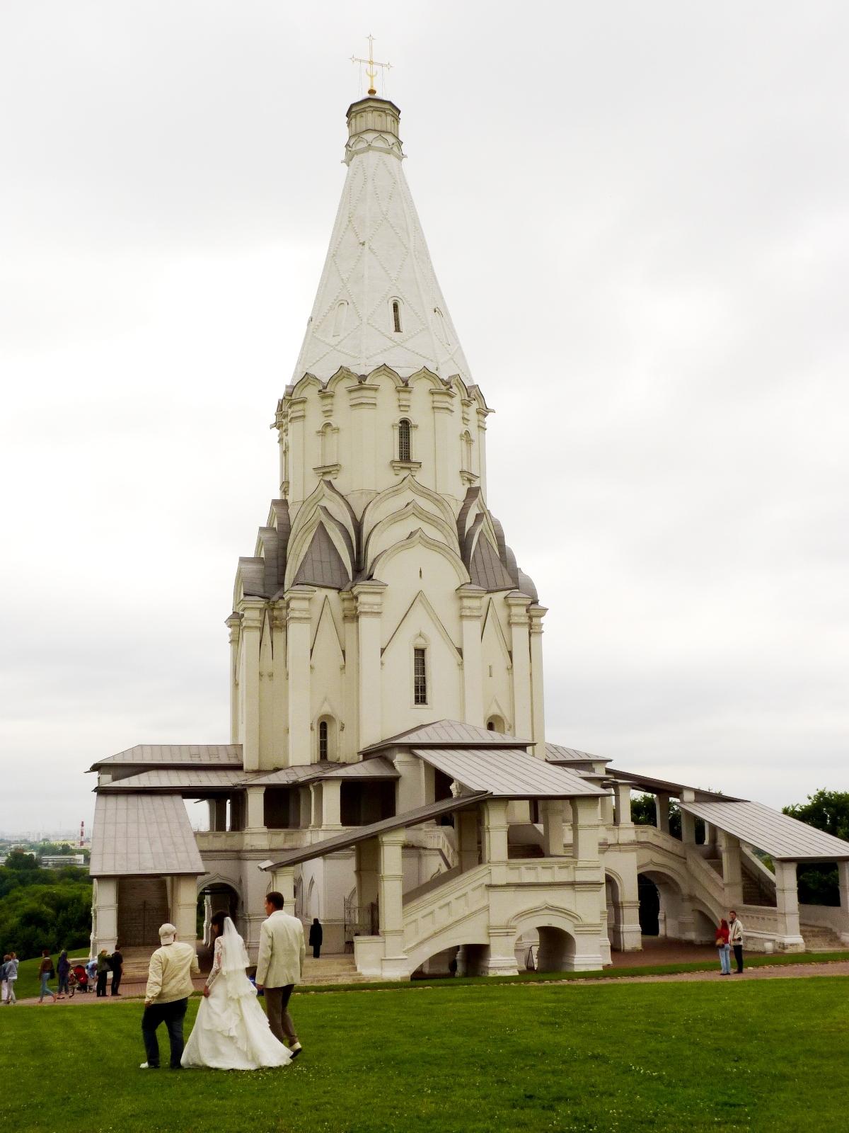 l'Ascension à Kolomenskoïe