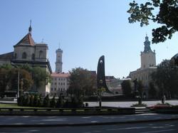 Centre ville de Lvov