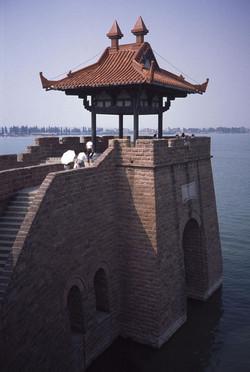 le lac de l'ouest à Wuhan