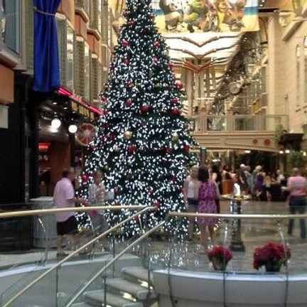Happy Holidays on Liberty of the Seas