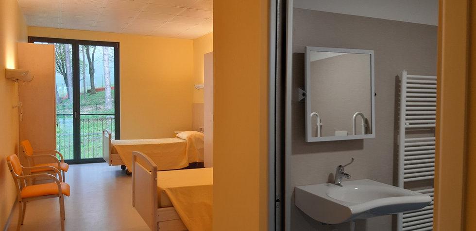 camera con bagno privato per disabili -