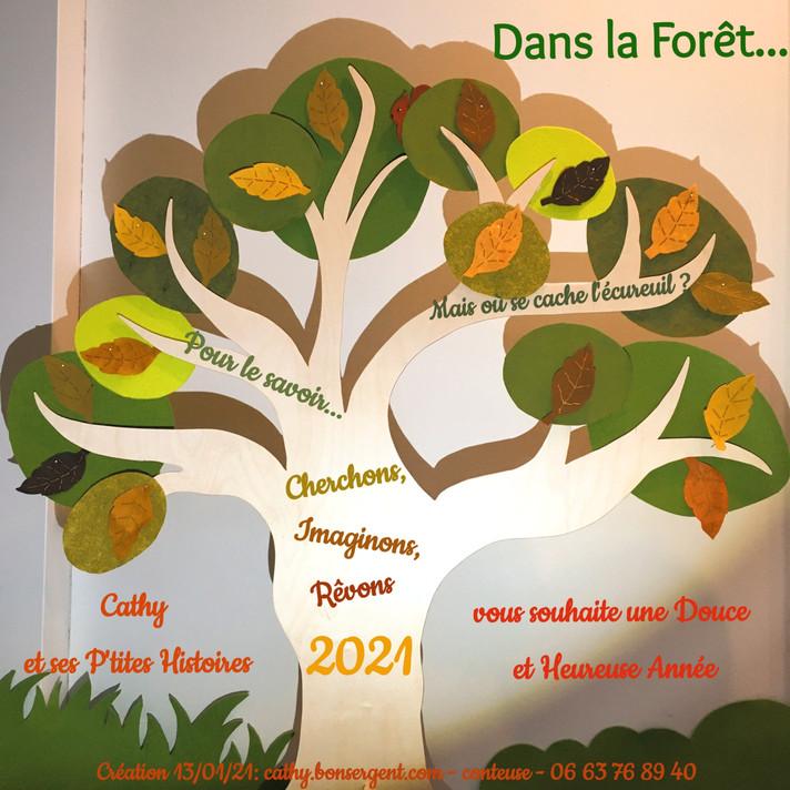DEUX MILLE VINGT ET UN ET...        UNE nouvelle histoire, Espoir .création 13/01/21.