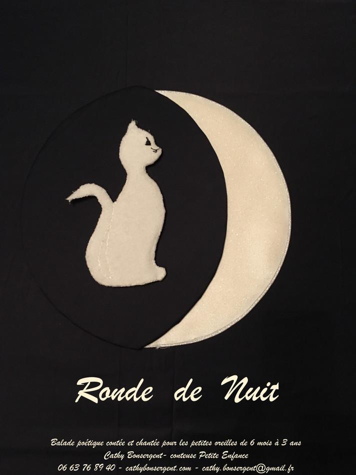 RONDE DE NUIT :  Histoire au Clair de la Lune, au fil d'une balade nocturne, en chanson et poésie...