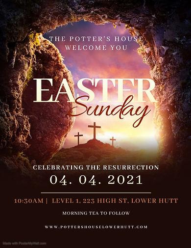 Copy of Church Easter Sunday Flyer Templ