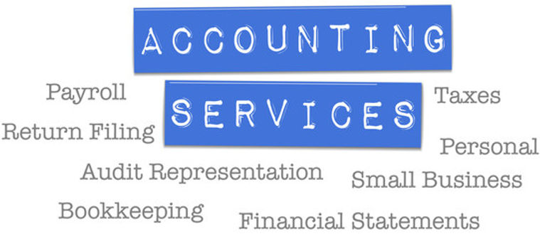 Tax Services, Payroll Services, Bookkeeping Services, Accounting Services