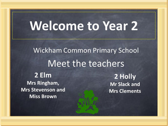 Year 2 Meet the Teacher