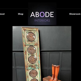 Abode Interiors Website